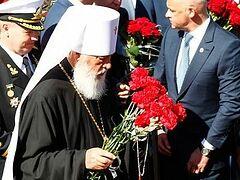 Одесса: митрополит Агафангел принял участие в торжествах в честь 70-летия Великой Победы