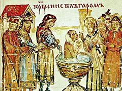 Страшный Суд как... причина крещения кн. Бориса Болгарского