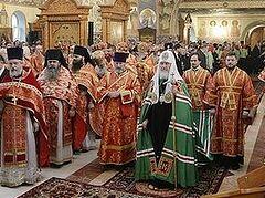 Патриарх Кирилл: без новомучеников российских не было бы Великой Победы