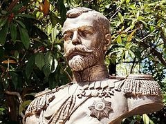 A monument to Emperor Nicholas II unveiled in Livadia by the Crimea's Prosecutor General