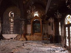 63 churches have been destroyed in Syria during the years of war