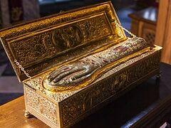 Жители Подмосковья смогут поклониться мощам Георгия Победоносца с 28 мая по 1 июня