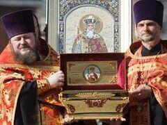 Мощи князя Владимира прибыли в Тулу