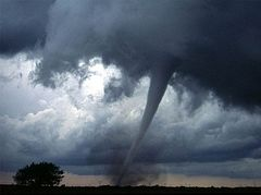 Dnepropetrovsk region: tornado changed its direction before the Chapel of Blessed Matrona