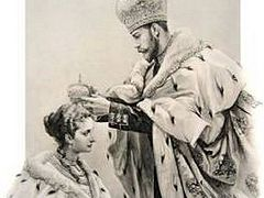 Crowned, anointed, and communed as clergy: On the coronations of Russian empresses regnant