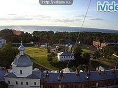 На сайте Валаамского монастыря теперь можно посмотреть прямую трансляцию с веб-камер
