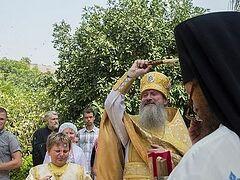 В Магдале отметили день памяти святой равноапостольной Марии Магдалины