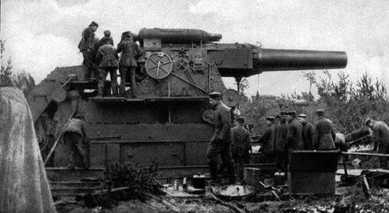 Немецкая пушка Большая Берта