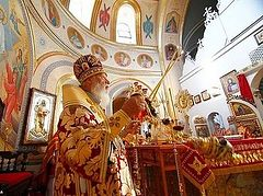 Metropolitan Agathangel speaks out against the gay parade in Odessa