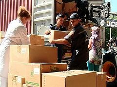 Donated Medical Equipment Reaches Hospitals in Dnipropetrovsk, Ukraine