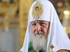 Patriarch Kirill hopes for interaction between Ukrainian Orthodox Church, Ukrainian authorities in interests of society