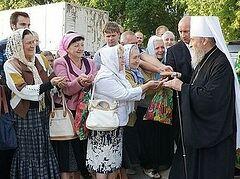 Предстоятель Украинской Православной Церкви прибыл на Донбасс