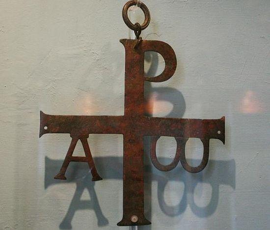 Фото Азбука.ру Такие кресты украшали собрания римских христиан в 4-м веке