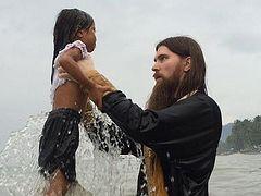 Mass Baptism in Kiamba, Philippines
