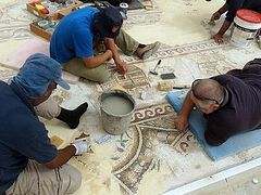 Byzantine-Era Mosaic to be Displayed in Southern Israel