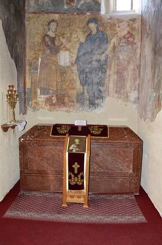 Место упокоения св.Владислава