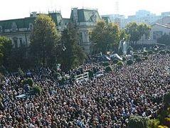 Romanian Pilgrims Flock to Saint's Shrine