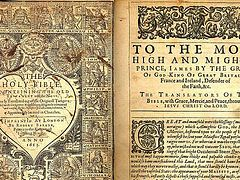Earliest Draft of the King James Bible Discovered by New Jersey Professor