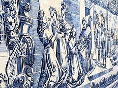 Tile Panel Showing Queen Ketevan's Martyrdom Unveiled in Georgia