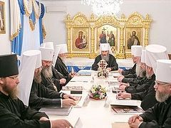 Holy Synod of UOC MP: let's not give in to provocations