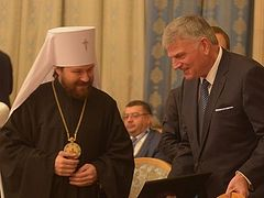 The Christian and Peace. Address by Rev. Franklin Graham, President of Billy Graham Evangelistic Association, at International Conference on Religion and Peace (Moscow, 29 October, 2015)