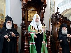 Patriarch Kirill to again lead celebrations of 1,000th anniversary of Russian presence on Athos