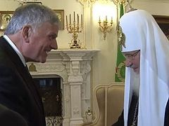 VIDEO: Patriarch Kirill's Meeting with Franklim Graham