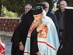 Primate of the Ukrainian Orthodox Church visits Mt. Athos