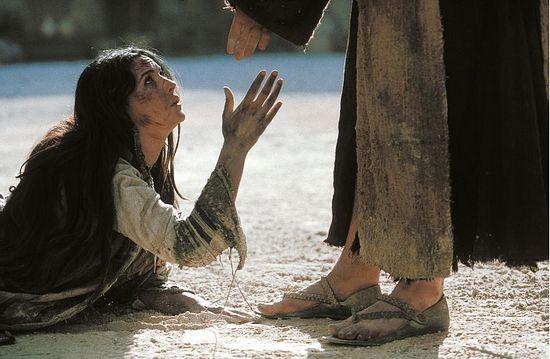 Хананеянка у ног Христа