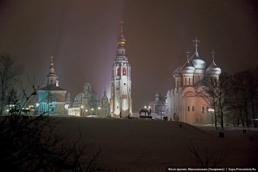 Софийская площадь Вологды