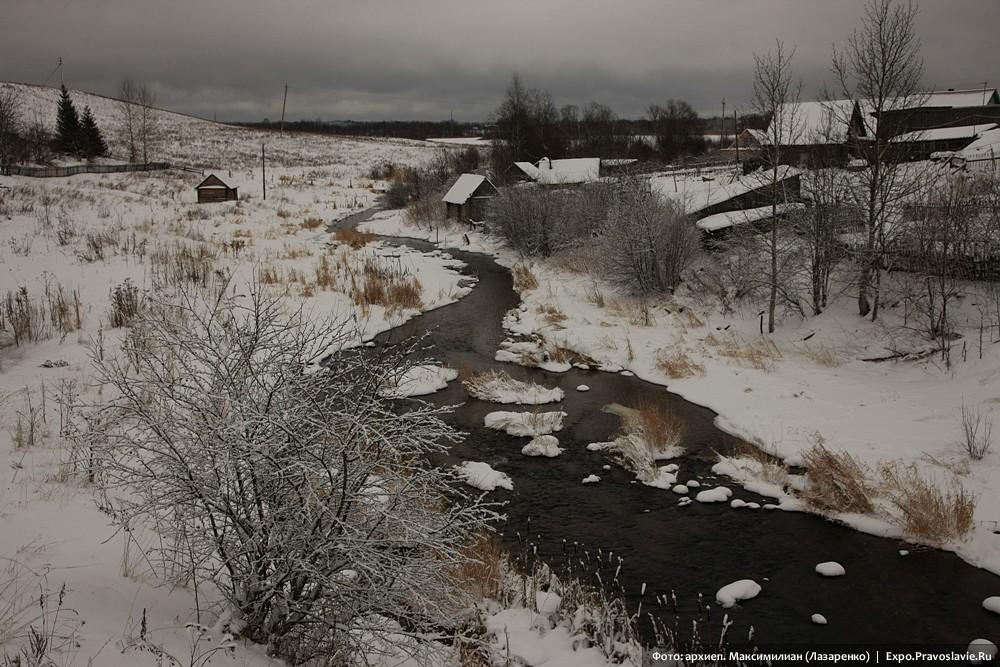 Река Паска. Ферапонтово