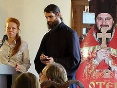 """The Synodal Cathedral of Our Lady """"of the Sign"""" Hosts an Event in Memory of Priest Daniil Sysoev"""