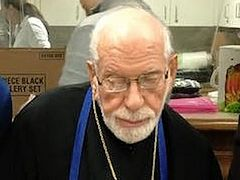 Chicago's 88-Year Old Greek Orthodox Metropolitan Joins Communities in Feeding Needy on Thanksgiving