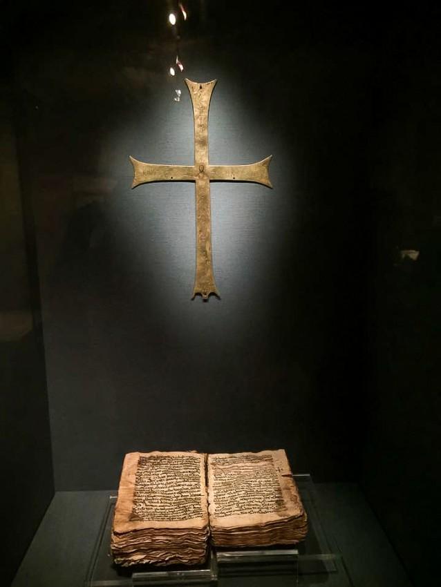 Древние кресты и списки Писания