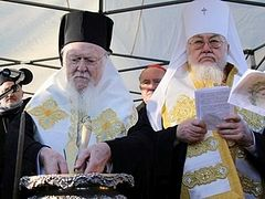 Laying of the Foundation Stone of a New Orthodox Cathedral in Warsaw