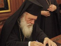 Greek Archbishop: 'The Cohabitation Agreement Must Not Become Law'