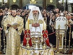 Blessing of the Restored Iconography of St. Spyridon the New Cathedral in Bucharest
