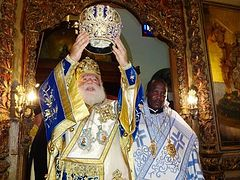 Homily of the Patriarch of Alexandria at the Consecration of the Bishop of Kisumu and West Kenya Athanasios