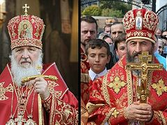 His Holiness Patriarch Kirill prays for Metropolitan Onufry and believers in Ukraine