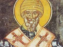 Miracle of St. Spyridon in Corfu