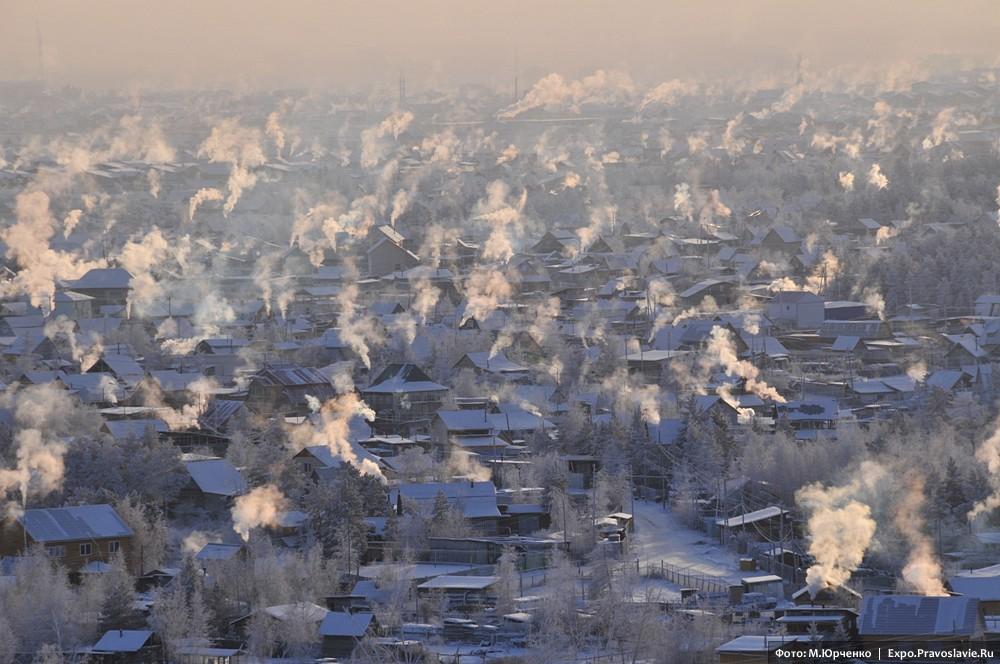 Морозный дым