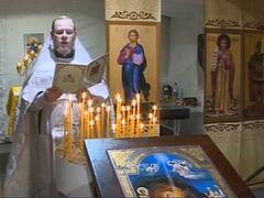 Рождественская служба прошла в полевом храме в Сирии