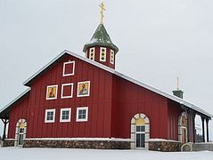 Orthodox church keeps it 'historic'