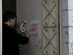 Hebrew graffiti at Jerusalem monastery threatens Christians