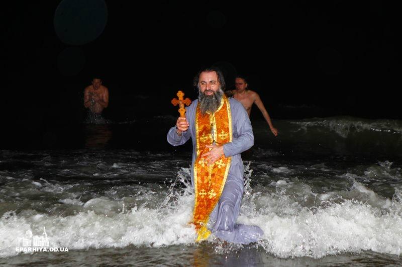 Одесса, Великое освящение воды неподалеку от Свято-Успенского монастыря