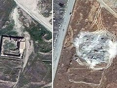 ISIS destroys Iraq's oldest Christian monastery, satellite photos confirm