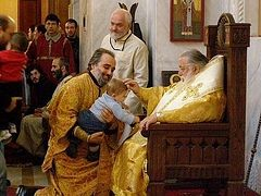 659 babies become new godchildren of Catholicos-Patriarch Ilia II