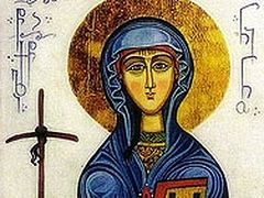 Russian Greetings to Catholicos-Patriarch Iliya of Georgia on commemoration day of St. Nina Equal-to-the-Apostles
