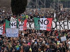 More Than One Million March on Rome for 'Family Day' to Protest Gay Unions Bill