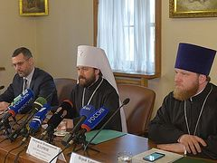 Press conference at DECR on Patriarch Kirill's forthcoming visit to Latin America